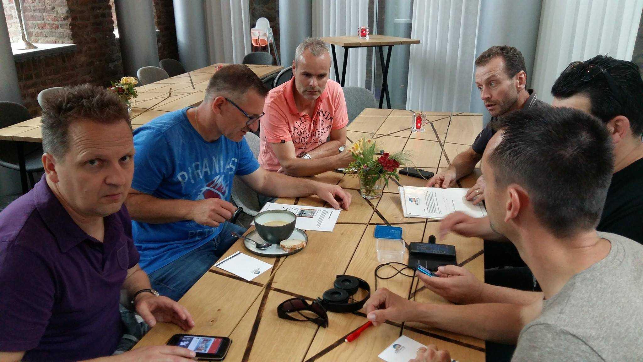 vergadering gecombineerd met teambuilding activiteit in vergaderzaal Van Kesselzaal