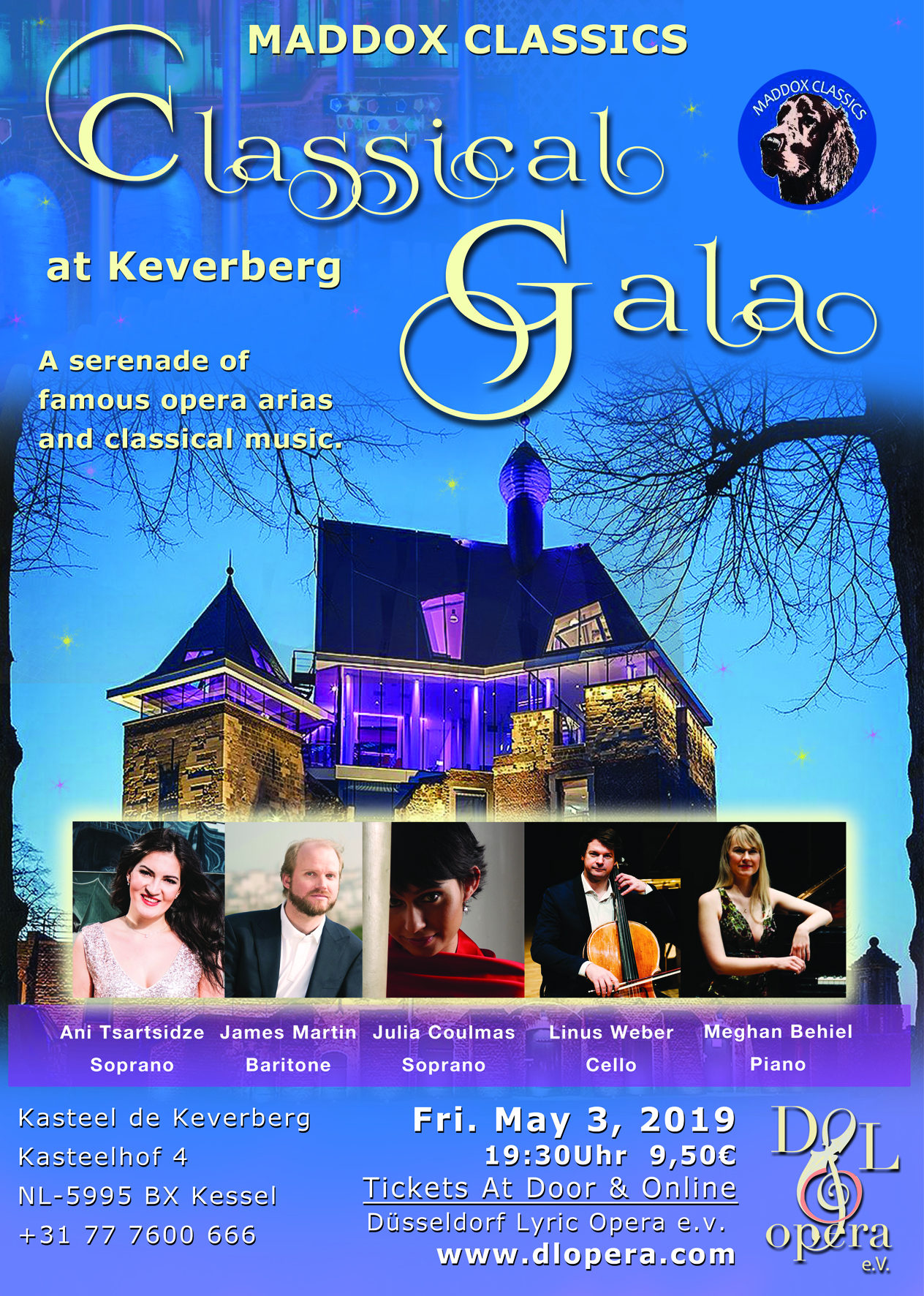 Classical Concert at Keverberg mei 2019