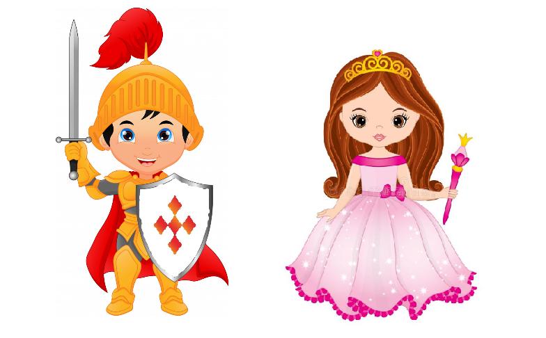 Ridder en prinses