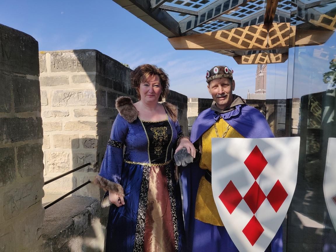 Koning Walram en Konigin Marianne klein