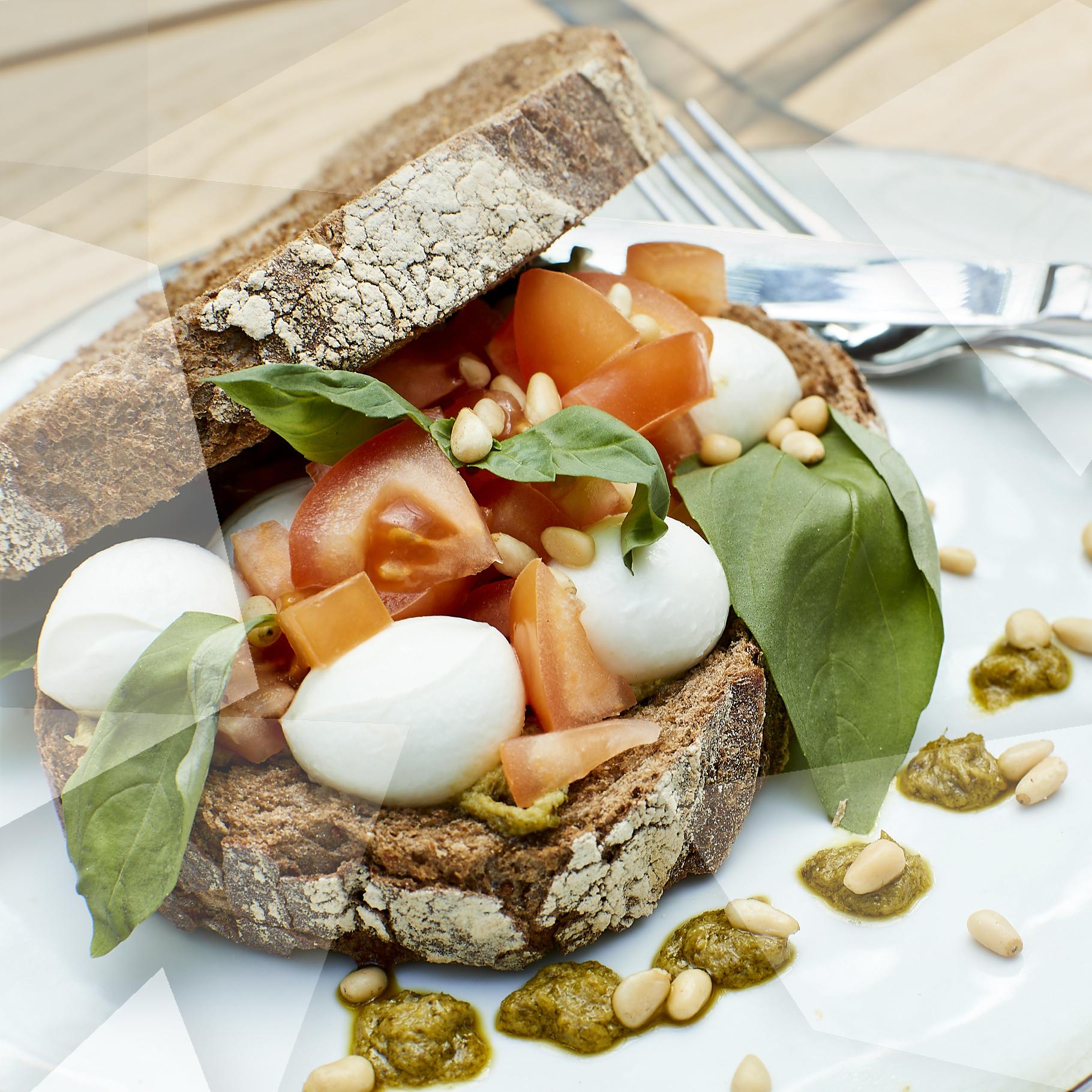 kasteel-de-keverberg-lunch-broodje-mozzarella